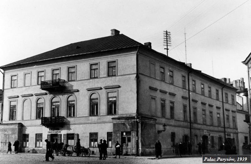 palac parysów 1939r.